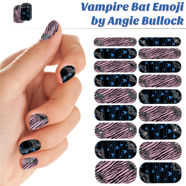 vampire-bat-emoji-collage